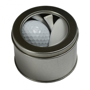 One Ball Golf Accessories Tin