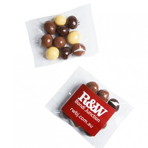 Chocolate Coated Coffee Beans in a Cello Bag 25g