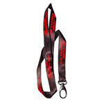 BFLY005 Printed Satin Lanyards