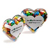 Acrylic Hearts Filled with your Favourites
