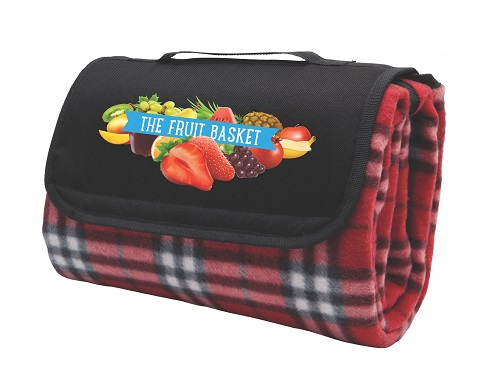 Antigua Picnic Rug, Red Check