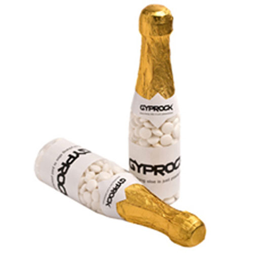 Champagne Bottles filled with Confectionery