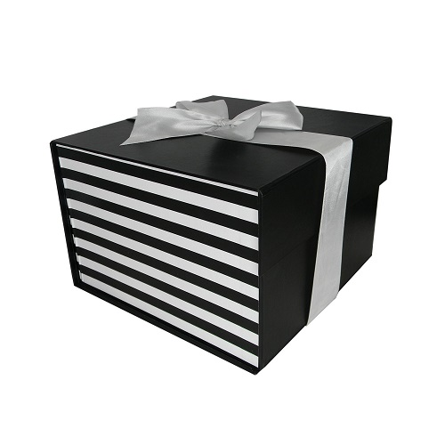 Small Flatpack Gift Box with Ribbon