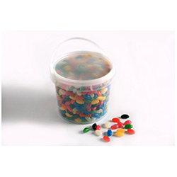 BFCFB010 - PVC Bucket filled with Jelly Beans 2.4kg