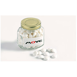 BFCFJ033 - Mints in Squexagonal 90g Jar