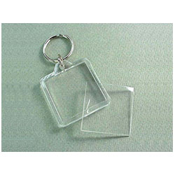 BFAK004 Rectangle Acrylic Keyring