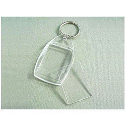 BFAK003 Rounded Rectangle Acrylic Keyring