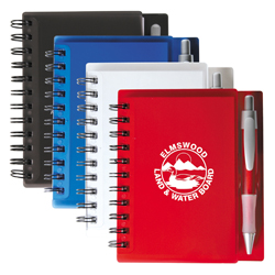 BFNB005 Spiral Notebook With Pen