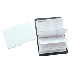 BFNB015 Magnetic Note Address Book